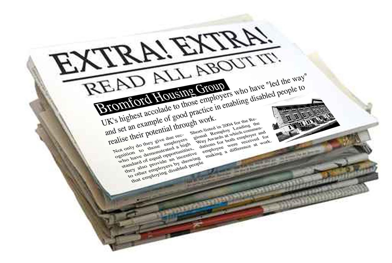 Grab newspaper