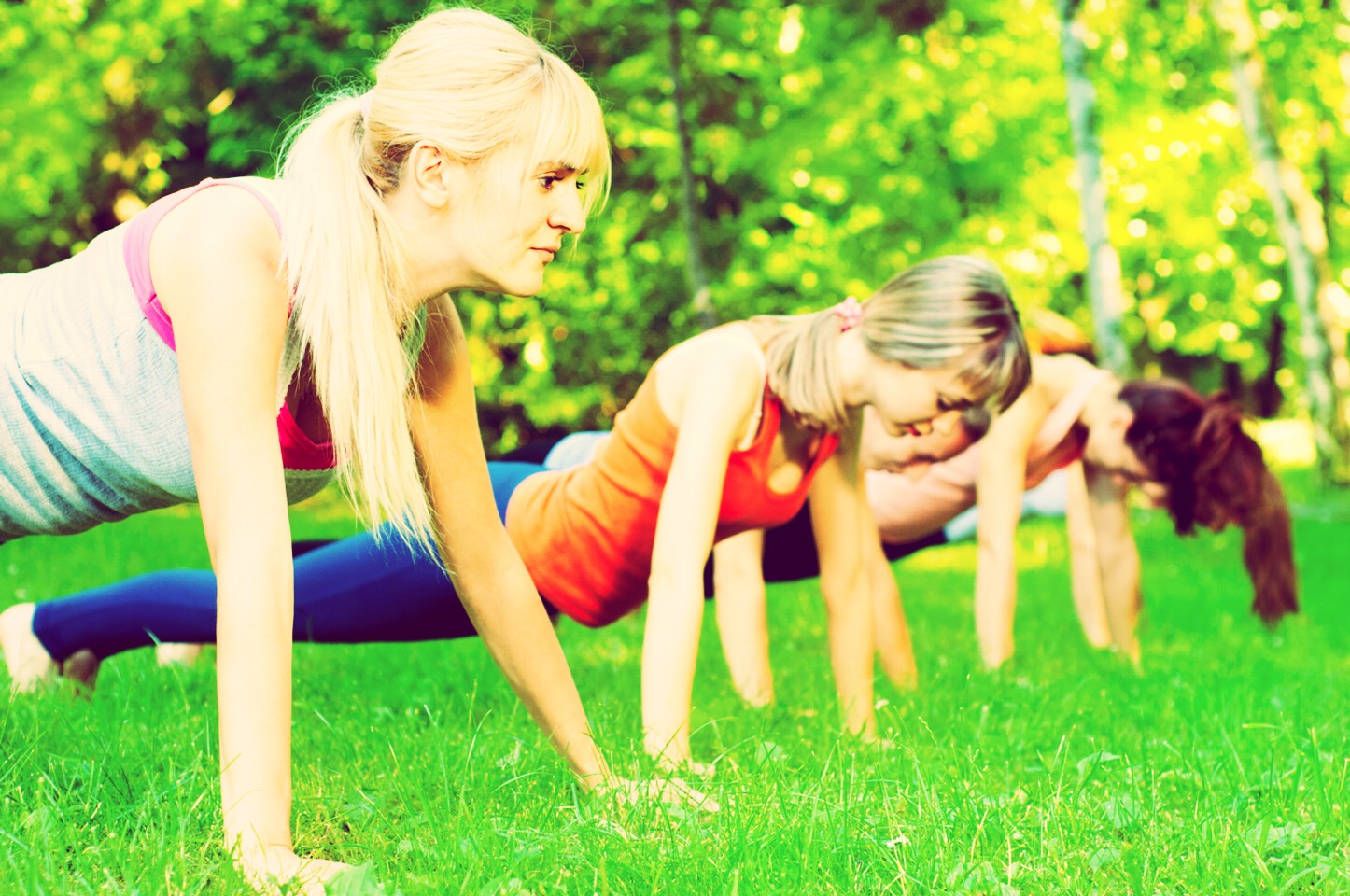 Tip 3 👥  Exercising with friends might help because then you can motivate each other to carry on