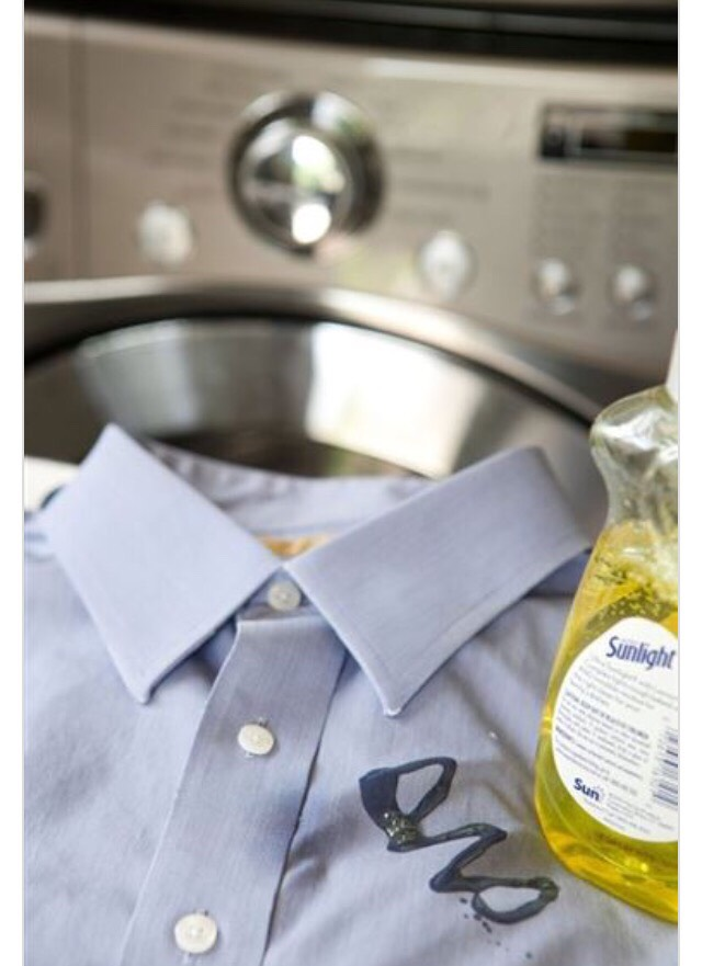 how to remove set in grease stains from tablecloth