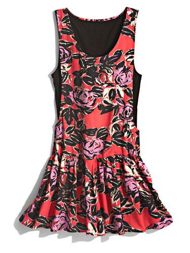 Drop Waist Dress This fashion-y shape can be dressed up with wedges or down with cool sneaks!  Vans dress