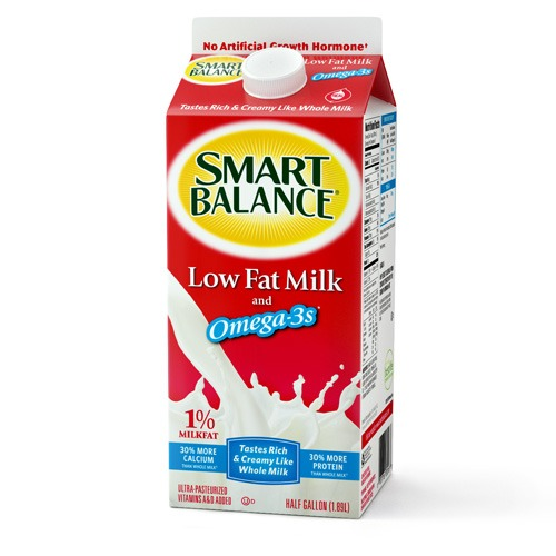 3/4 cup of reduced fat milk