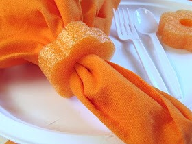 Napkin decoration Extremely adorable for guests