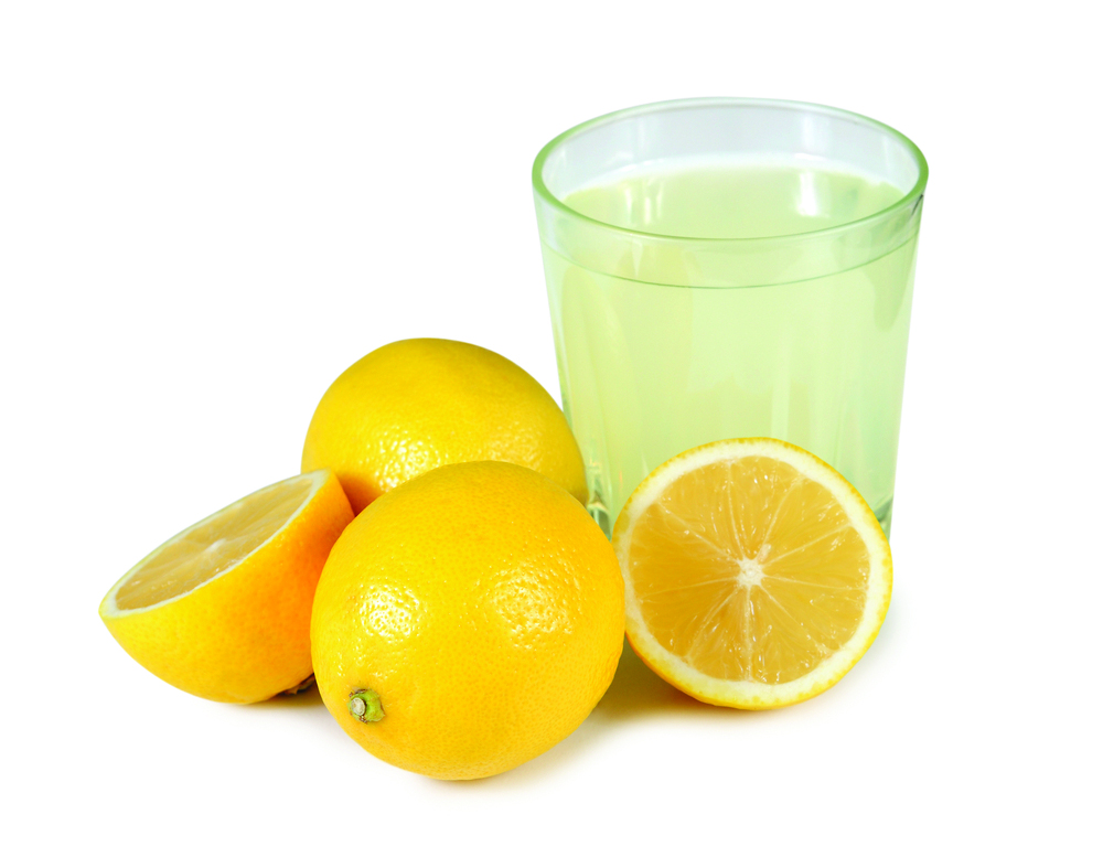 using nothing but lemon juice and water can considerably lighten your hair. Fill a squirt bottle with two parts fresh squeezed lemon juice and one part water spray onto hair before spending time in the sun. This method may take sometime to work but if you apply it once every two or three days you should see a result within two to three weeks