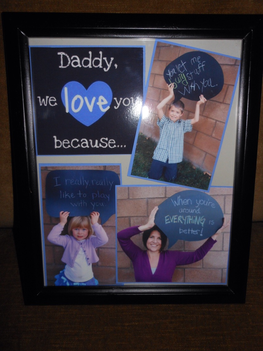 This could be great for dad, mom, grandma, grandpa, ANYBODY!