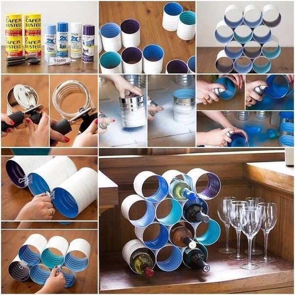 Diy Wine Bottle Holder By Ko Her Musely