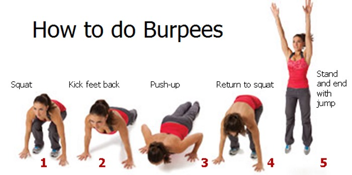 burpees+pushup
