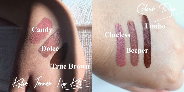 Kylie lip kits are always out of stock and unless u are on the site exactly when they release its hard to get your hands on one. Colorpop has liquid lipsticks for only $6 and these shades are exact color and formula dupes for Kylie's.