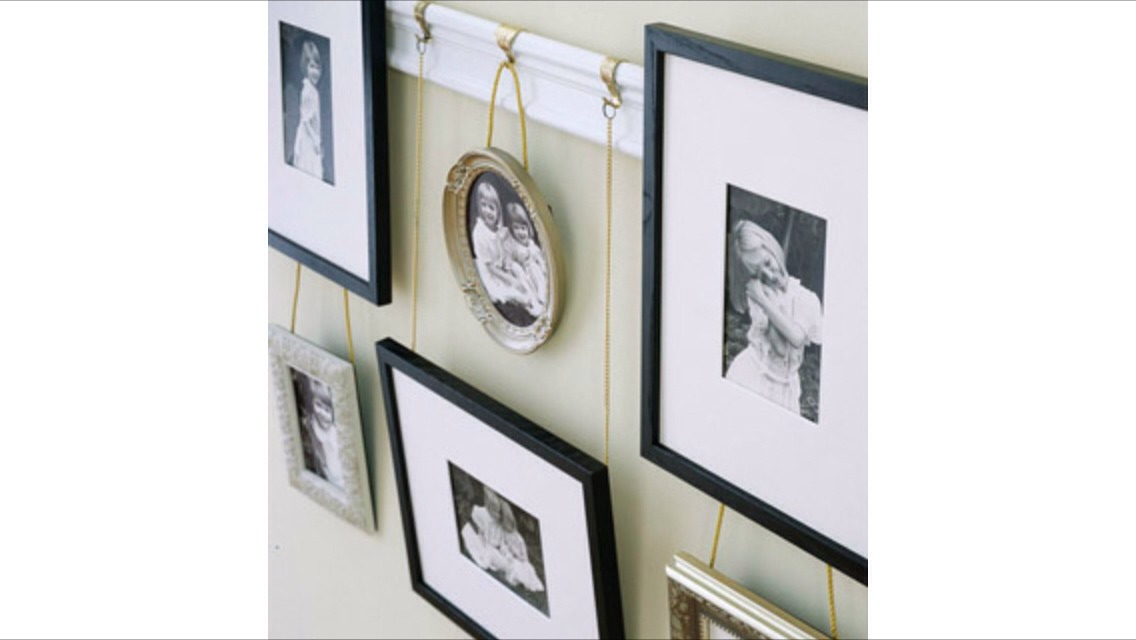 hang personalized Artwork!! your bedroom is an ideal spot for displaying collections of personal photograph. Dressing a wall with objects you love is one way to surround yourself with memories!!