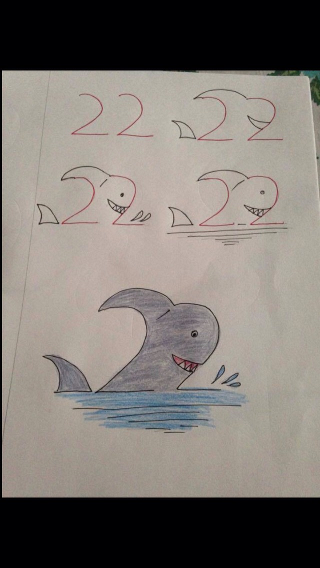 Drawing Made Easy Using Numbers By Jackie Hernandez Musely