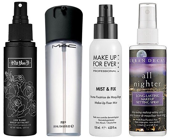 5. Invest in some makeup setting spray. This makes your makeup last way longer and also freshens it up