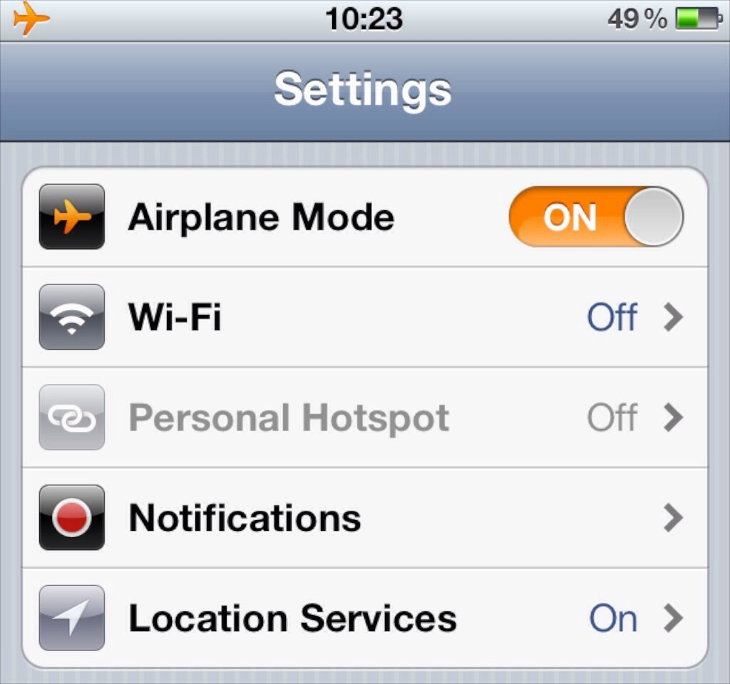 Switch your phone to airplane mode and it will charge faster!