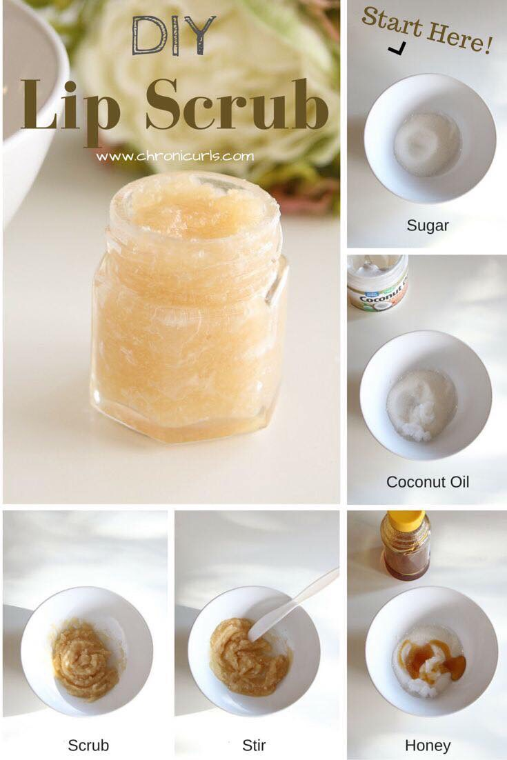different types of lip scrubs