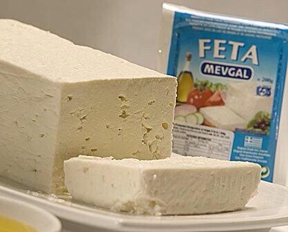 Add the feta, make sure it's small chunks (I blended mine)