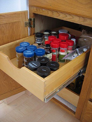 Try Rolling Drawers  Invest in some rolling drawers so it's easy to access everything in your small space.
