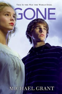 Gone...by Michael Grant- LOVE it!-- everyone over 15 disappears and two boys (unknown brothers) are enemies