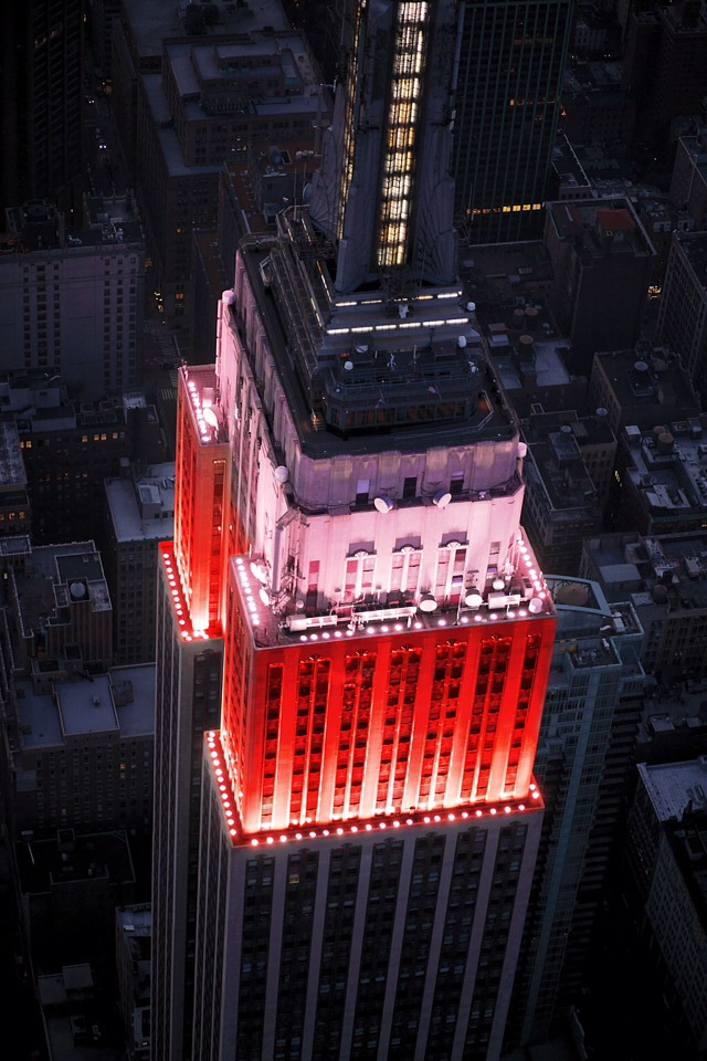 Empire State Building. A long-time Romantic icon.