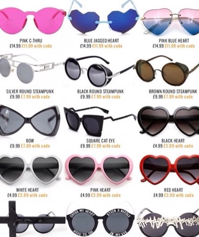 No need to hiss at the sun with these shades 😎
