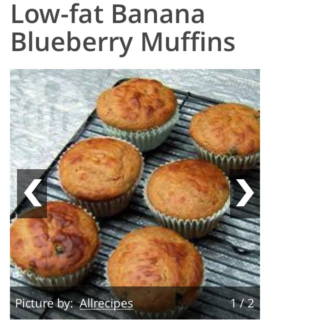 I've tried these before, and they are so delicious! They are better than any store bought muffin, and they even taste healthy too!