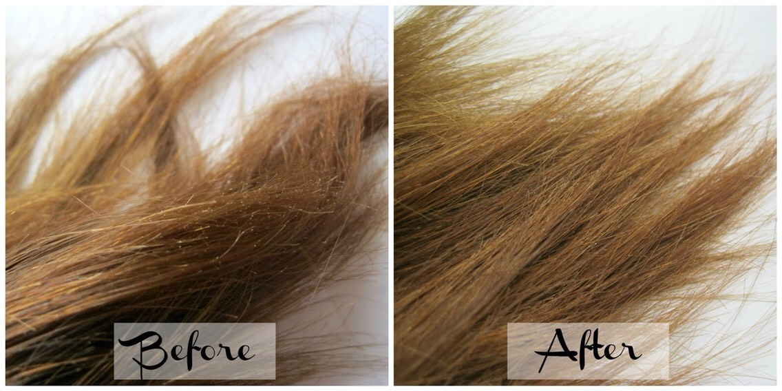 I've recently bleached my hair, and caused a lot of damage. It turned very coppery, and will need to be bleached again. This is how I'm reviving my damaged ends.