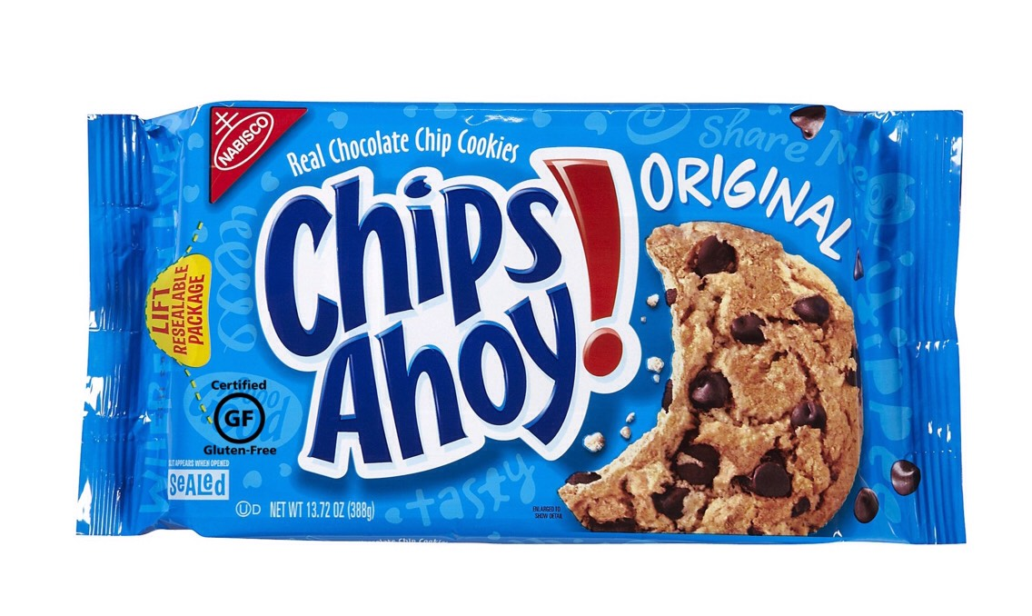 Do you want a snack?? In a mood for cookies?? Well Im going to show you a quick way to enjoy home cookies in a new way  First you need a box of chips ahoy