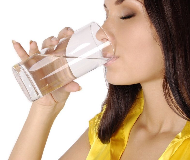 1) Drink plenty of fluids. Having 8-10 glasses of water per day is ideal. When your body is dehydrated, it often shows first in your lips. The more water, the better!