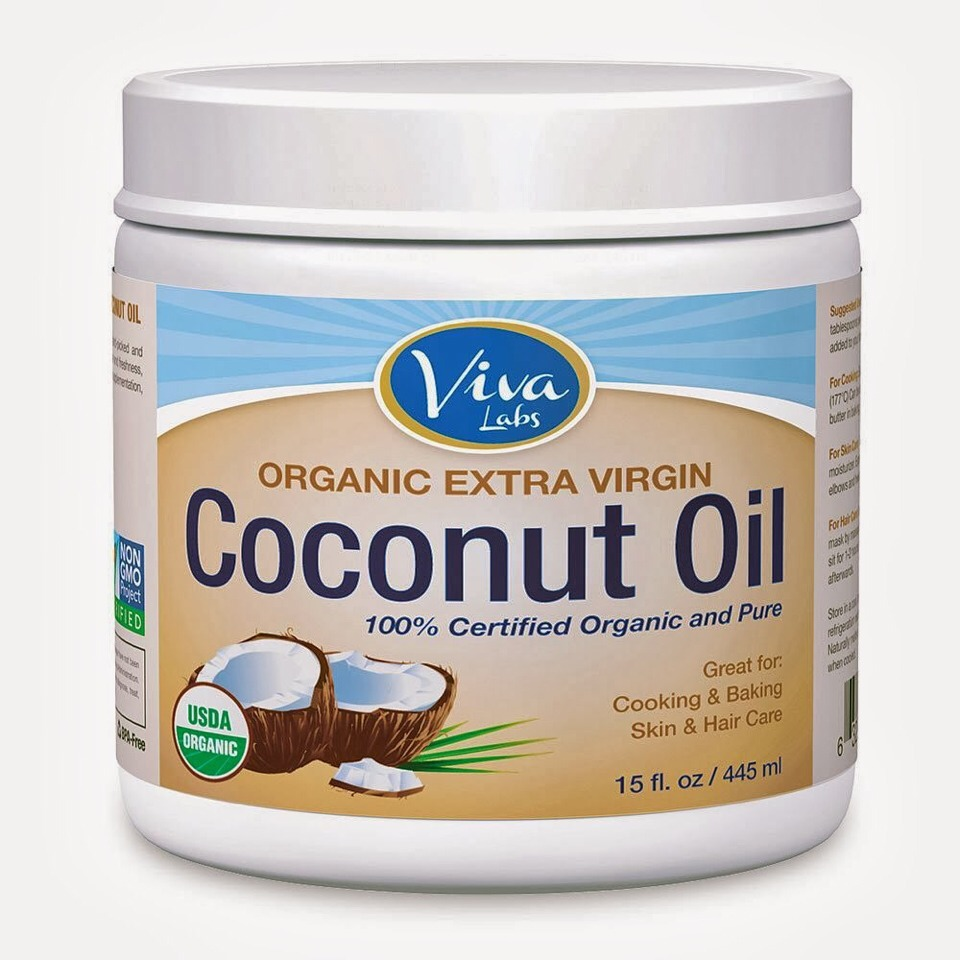 U will need coconut oil and a little bowl
