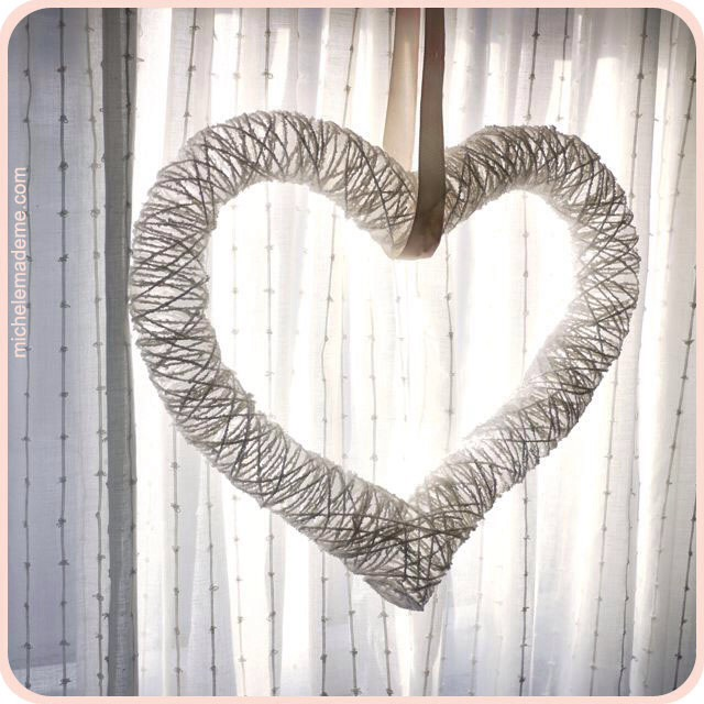 String it up with a ribbon, place it in a window and let the sun beam through it. Just LOVE-ly!...