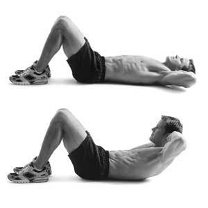 60 crunches