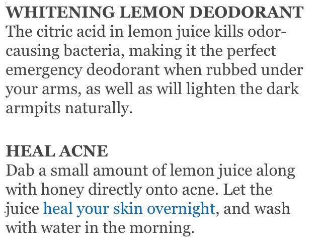 Again, as far as leaving it on your face overnight, I would not recommend doing so, the acid in the lemon juice can cause irritation and dryness! I have used it however for spot treatments and the scar correction and I dabbed it on, left for about 5 minutes, then rinsed! Worked like a charm! 😊👍