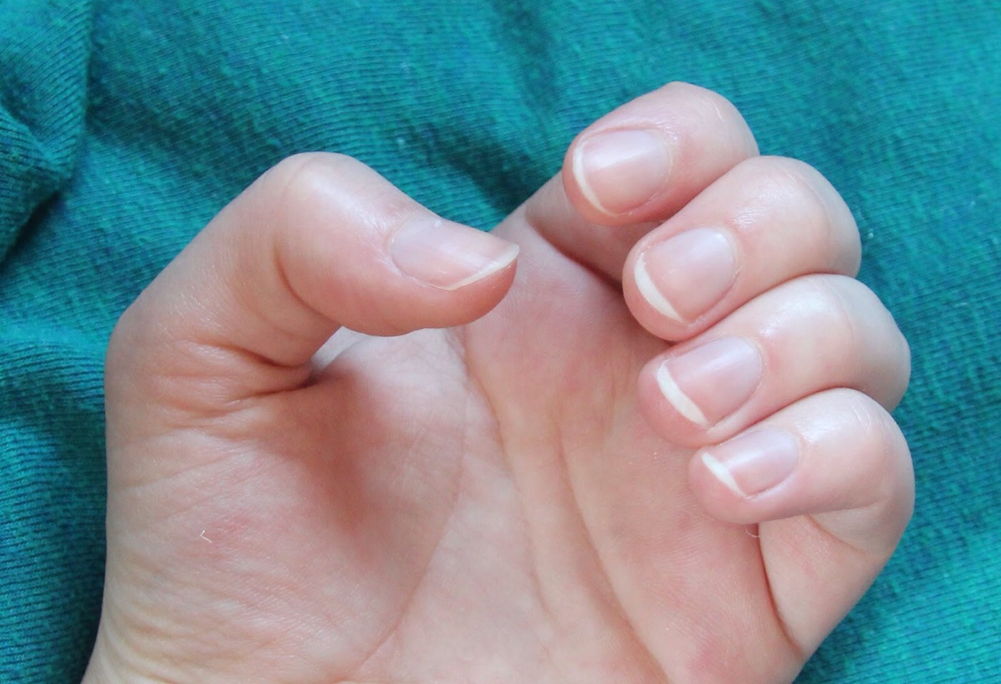 Put it on your nails to strengthen them