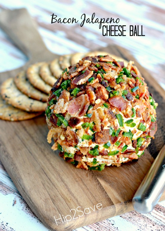 Ingredients: 8 ounces cream cheese, room temperature 1/2 cup shredded sharp cheddar cheese (2 ounces) 2 tablespoons chopped parsley 1 clove garlic, minced 1/4 teaspoon ground cumin 1/2 teaspoon Worcestershire sauce 2 jalapeños, stems and seeds removed, diced, divided 6 pieces cooked bacon, crumbled,