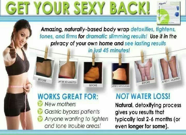 get ready for summer ! try our wraps. Defining gel. will be happy that you did !