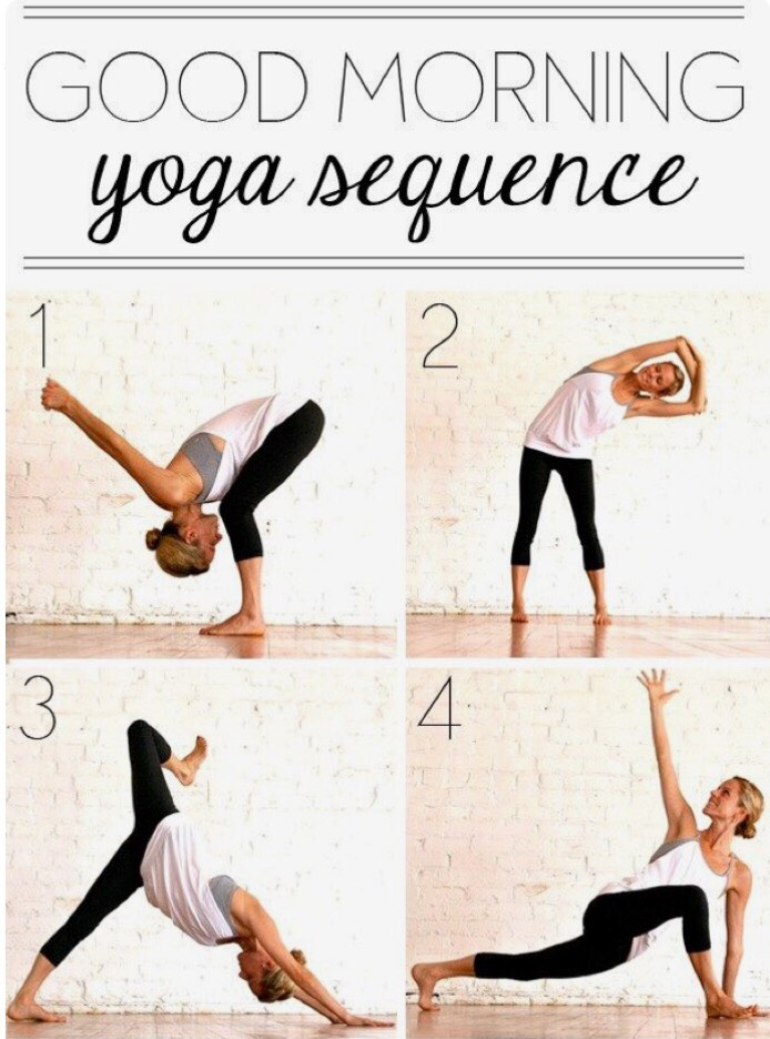 Good Morning Yoga Sequence 8 Poses