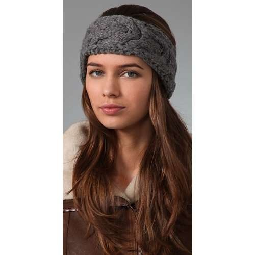 Get a Knit headband that looks adorable while keeping ur ears warm