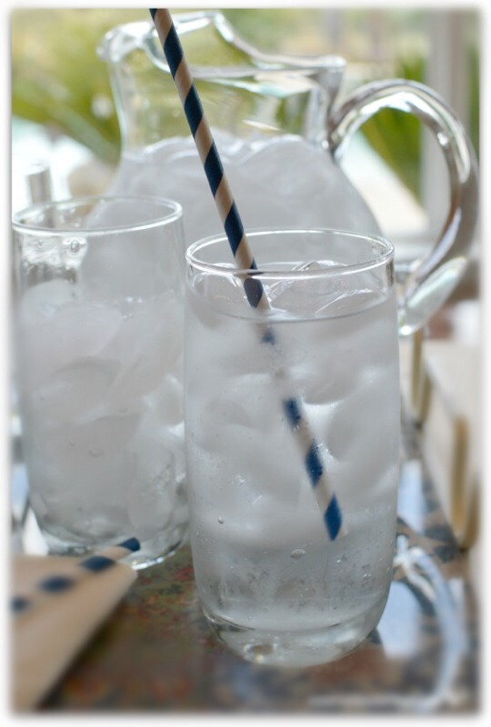 Drink 2 glasses (16 oz) of chilled water when you first wake up!