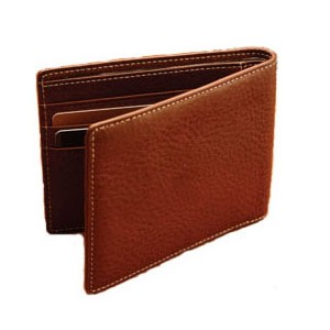 Wallet  The size of your wallet is really up to you, it should be able to carry your cards and some cash.