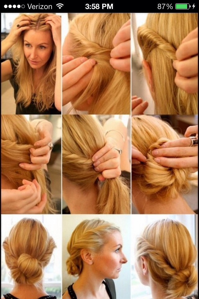 Quick And Easy Hair Styles | Hair Color and Styles for Medium Length ...
