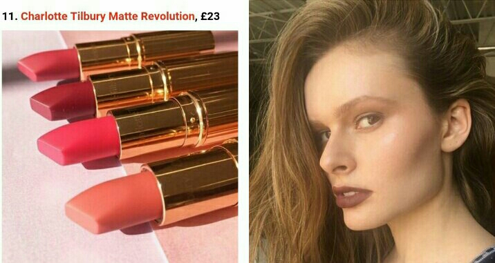 Charlotte Tilbury Matte Revolution, the formula is great and hydrating .   Example by jodiurichuk (follow in Instagram) with the shade Birkin Brown .