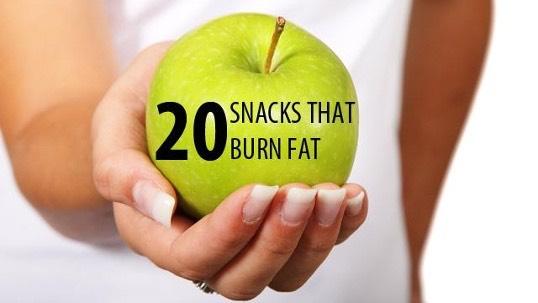 20 Snacks That Burn Fat 😱👍🏻💯