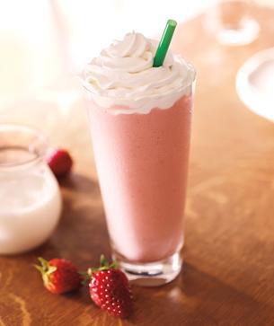 Strawberries & Crème Frappuccino® Blended Crème