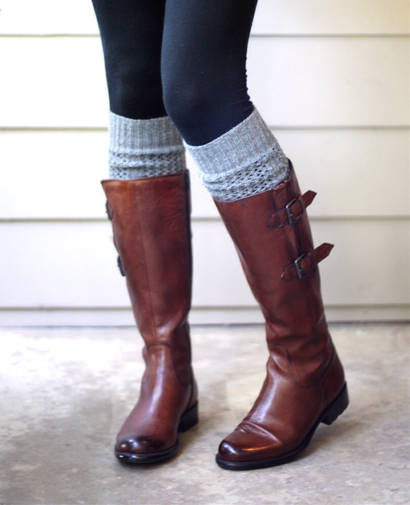 Fall boots especially leather ones are the bomb!!! And boot socks are a bigger plus!!