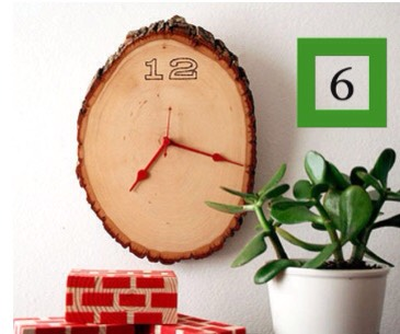 6. You can make an awesome wall clock xD