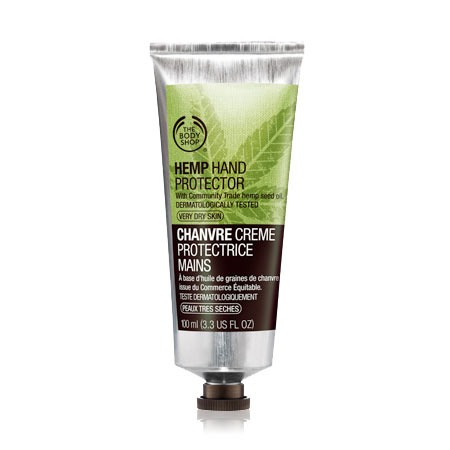 "This hand cream is the best one I've tried. It's from the body shop and it's called ""hemp hand protector"" it's for extremely dry and cracked skin. I use industrial cleaners on my hands and this is the only thing that healed my hands and made them soft. I apply a dime size amount 2-3 times a day."