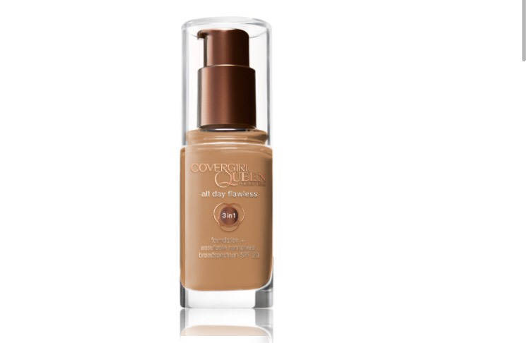 This is the all day flawless foundation which is a mixture of foundation, concealer and powder. It's a little higher in price for $11.99 but it's worth it.