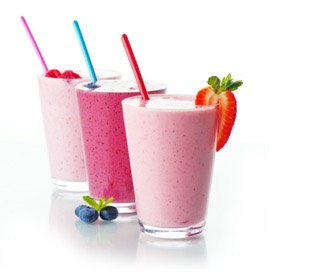If you can't resist juice , have fruit smoothies . There a lot healthier and have many benefits to Them