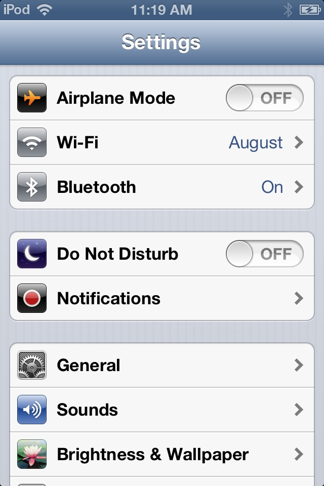1) go onto your settings and you should see airplane mode