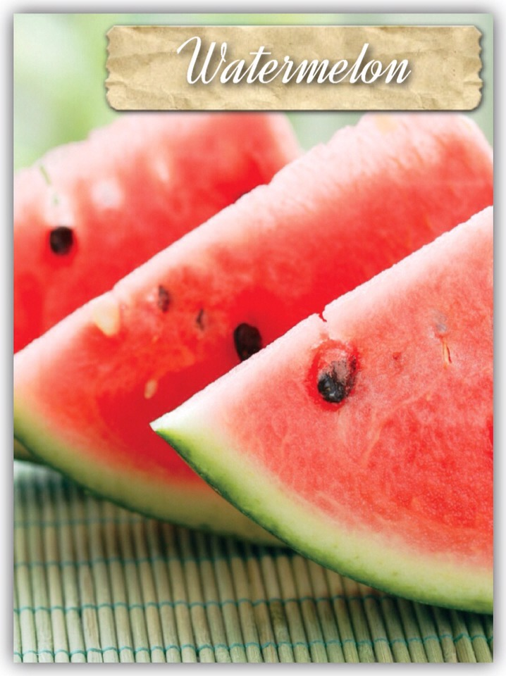 Watermelon contains Lycopene- This is an antioxidant that can help many people who have heart problems or even lower your chances of prospate cancer by a significant amount. We all know most red fruits contain this, but there is one fruit which doesn't and that is the strawberry.
