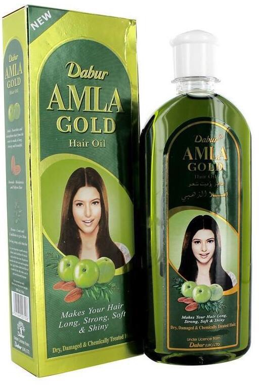 Amla oil! I would typically use this along with a hair cream