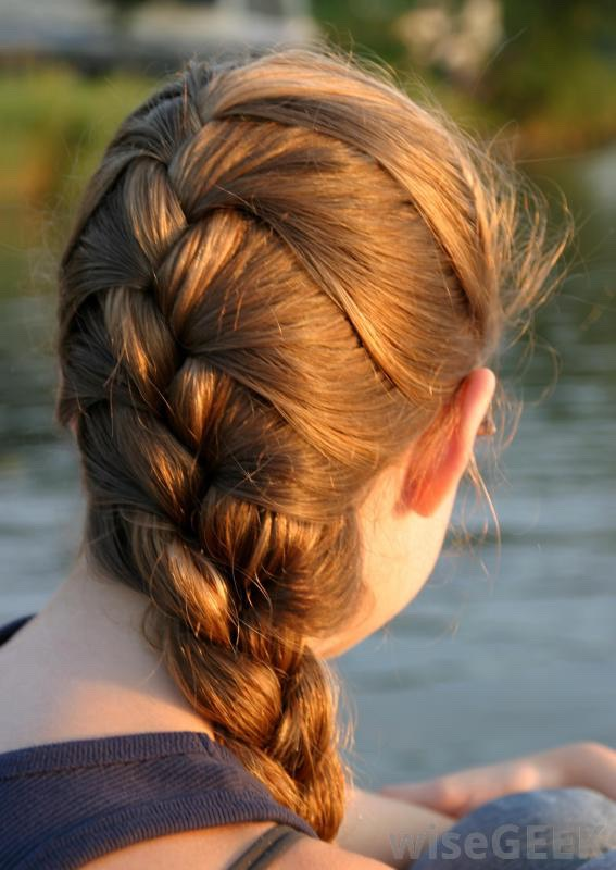 3. Keep your hair in a braid often! Preferably French braid :) your hair will love it!