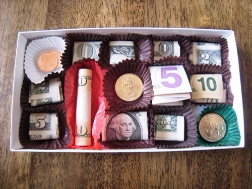 --> A candy box of money!!!